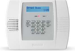 Burglar Guard installs the Honeywell Lynx range of home alarm systems